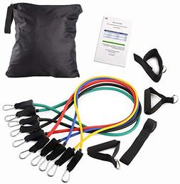 DVANIS Heavy Duty Premium Resistance Band Kit with Improved
