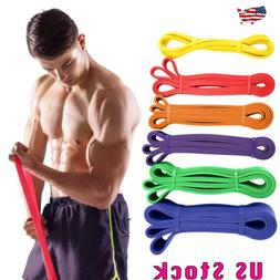 Heavy Duty Resistance Band Loop Power Gym Fitness Exercise Y