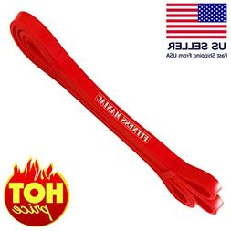 FITNESS MANIAC Heavy Duty Resistance Bands 0.5 Inches Thickn