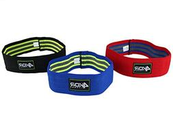 4KOR Fitness Resistance Loop Band Set, Perfect for Crossfit,