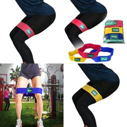 ZanFit Hip Bands - Set of 3 - Fabric Resistance Bands - Boot