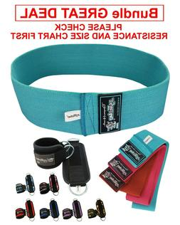 Resistance Bands and Ankle Straps for Cable Machine - Bundle