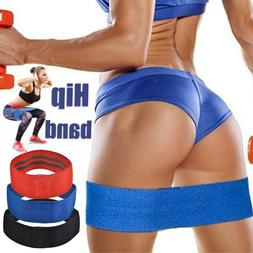Hip Circle Fabric Non Slip Hip Resistance Bands for Butt Glu