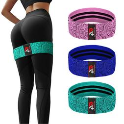 HIP Circle Glute Resistance Band Hip Rotation Exercise Stren