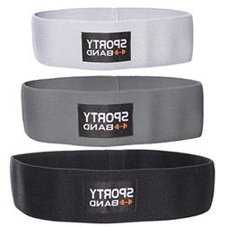 SportyBand Hip Resistance Bands - Premium Booty Workout Band