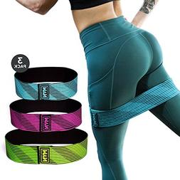 MVN Hip Resistance Band - Exercise Hip Bands for Legs and Bu