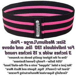 Hip Resistance Band Cotton Fabric Elastic Bands for Women an