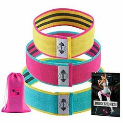 PeoBeo Hip Resistance Bands for Women | Set 3 Non Slip Hip T