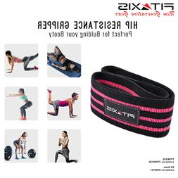 FITAXIS Hip Resistance Bands - Premium Exercise Wrap For Boo