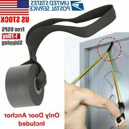 Home Exercise Yoga Over Door Anchor Fitness Rope Resistance