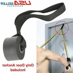 Home Gym Exercise Yoga Over Door Anchor Fitness Rope Resista