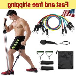 Home Gym Workout 11pcs/set Pull Rope Fitness Exercises Resis