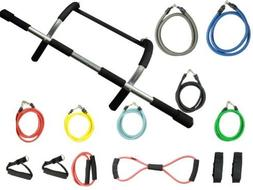Wacces New Home Pull Up Chin Up Bar Exercise Doorway Workout