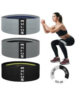 Resistance Bands for Legs and Butt, Non-Slip Booty Bands, 3