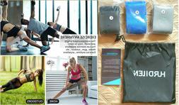 Hurdilen Unisex 3 Resistance Bands for Legs and Butt, Activa