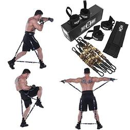 Ranbo Improve Workout Efficiency Body Resistance Bands/Stret