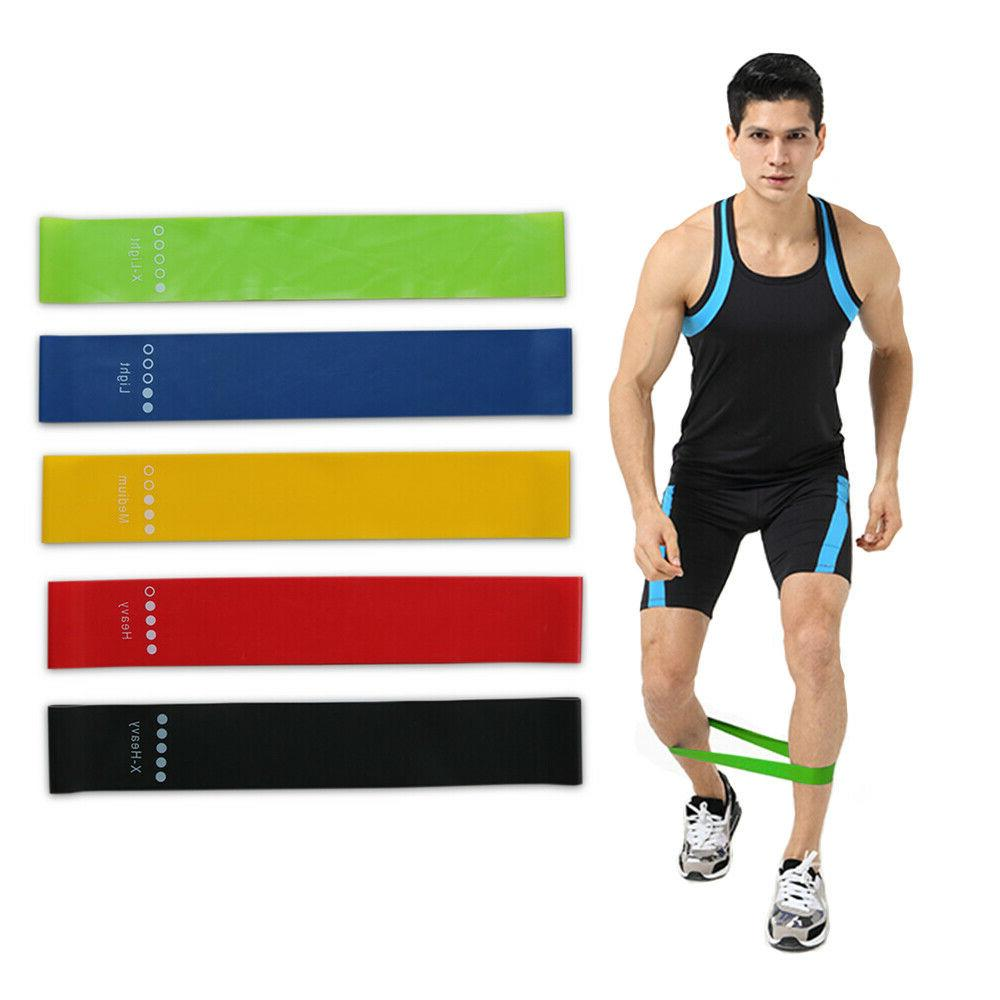 1 5 pcs yoga training straps resistance