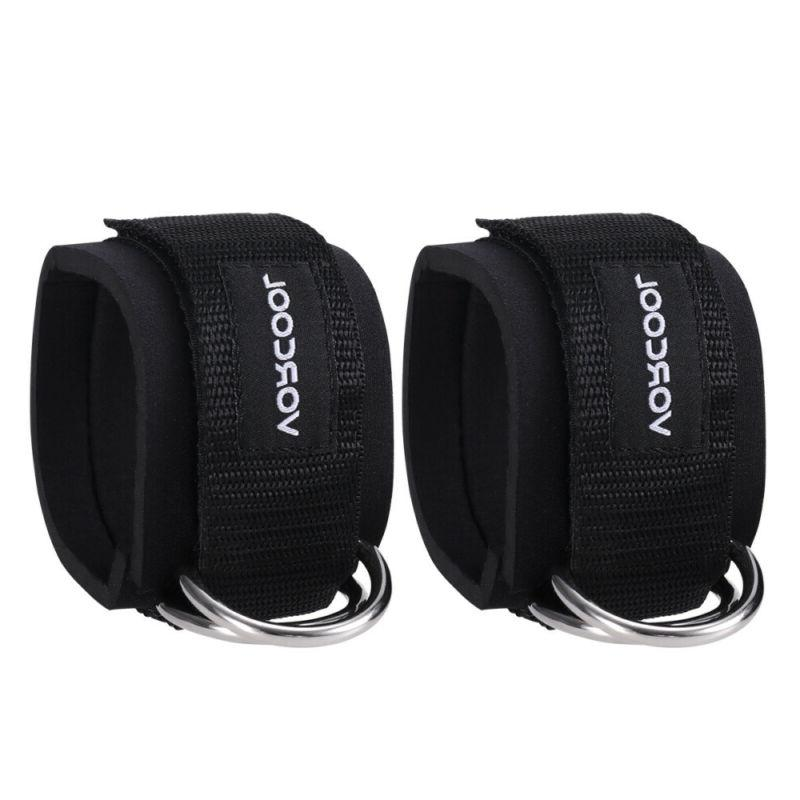 2X Lifting Ankle D-Ring Pulley Attachment Straps