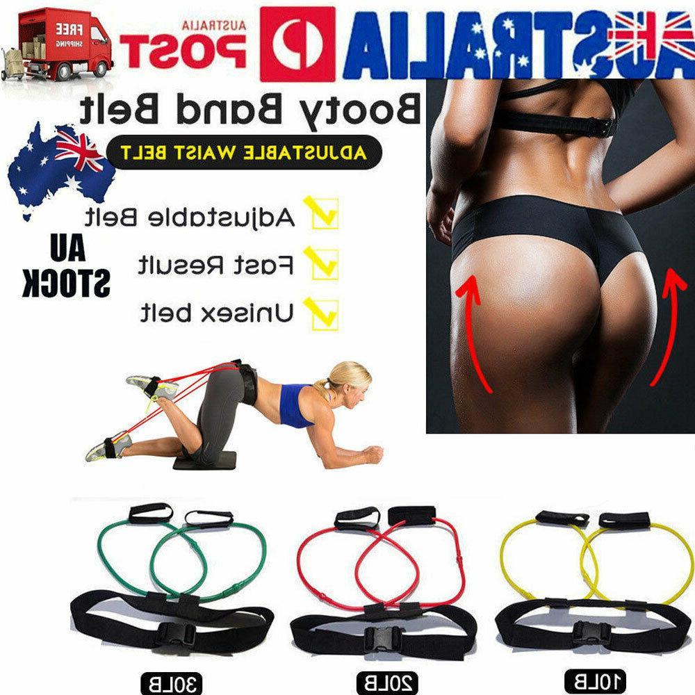 10-30Lbs Bands Belt Leg Butt Waist