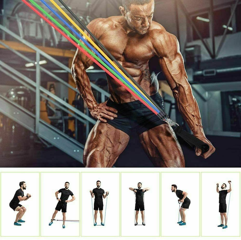 11 Set Abs Fitness Tube Workout