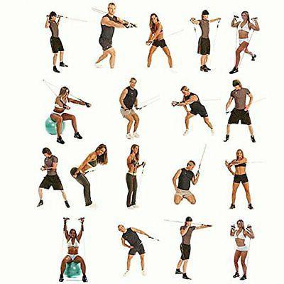 Koncle 11 pcs Band Set, Exercise Bands, Handles,