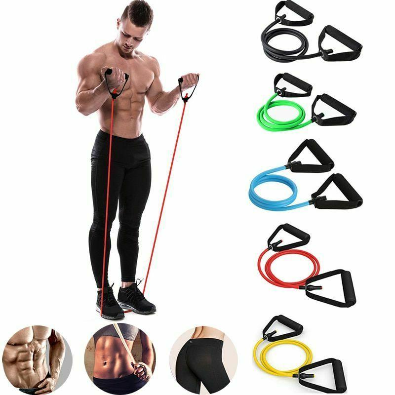 Fitness Latex Pilates Equipment Band Yoga Gym Pull