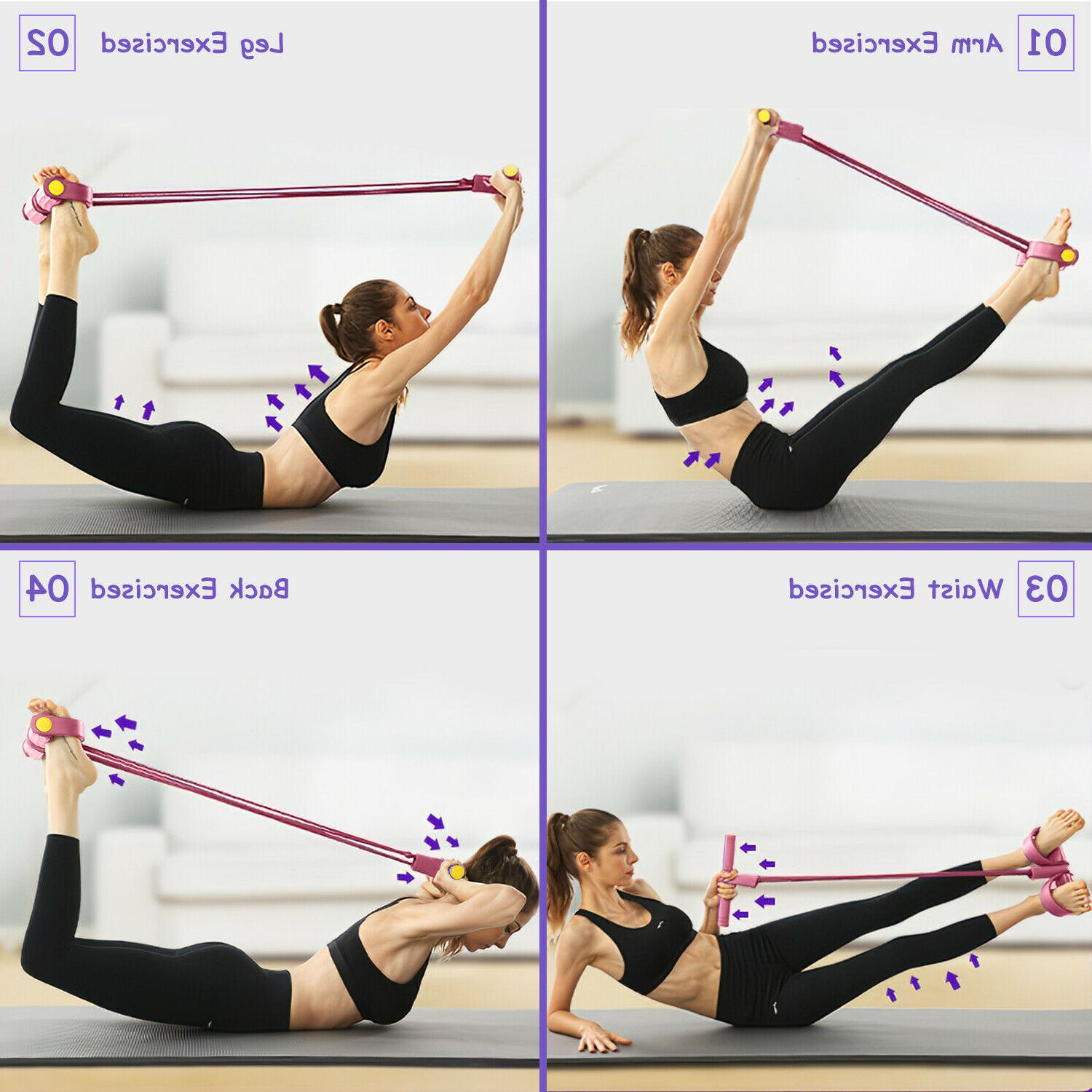 4-Tubes Fitness Rope