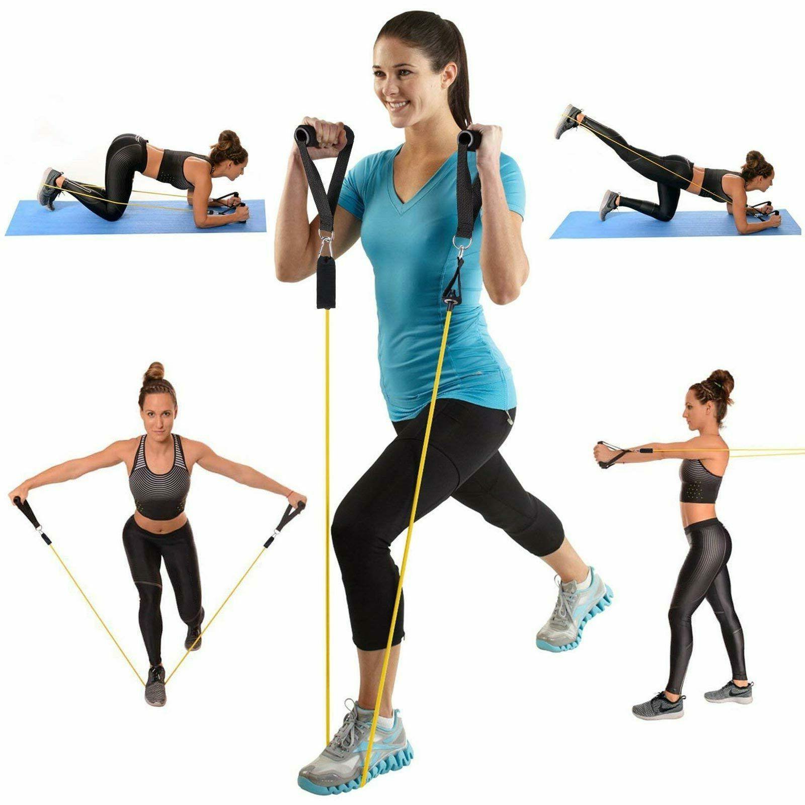 11 Resistance Set Pilates Exercise
