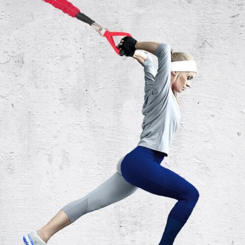 Resistance Band Leg Training Exercise Straps Sport Fitness