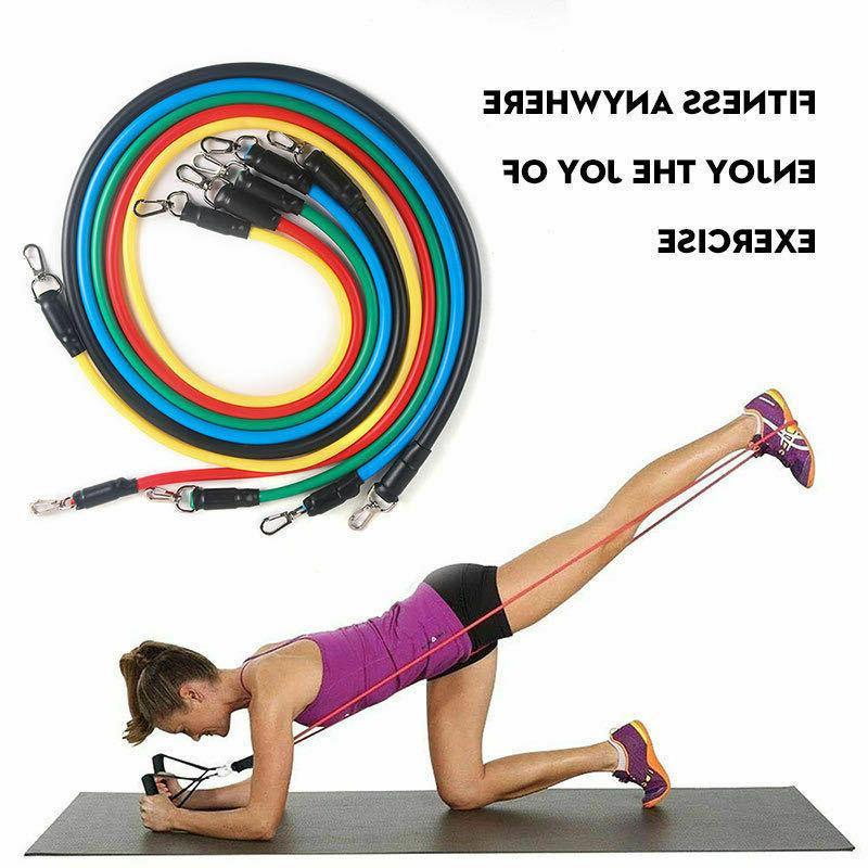 11 For Pilates Exercise Fitness Tube