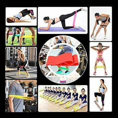 11PC Resistance Set, Fitness Bands, With Door Anchor,