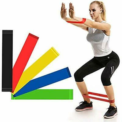 11pc resistance band set fitness bands