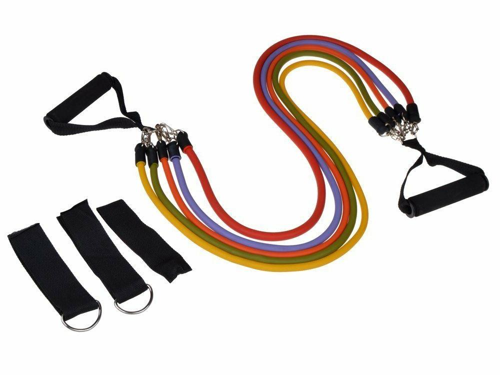 11PCs Workout Bands Abs Exercise Fitness