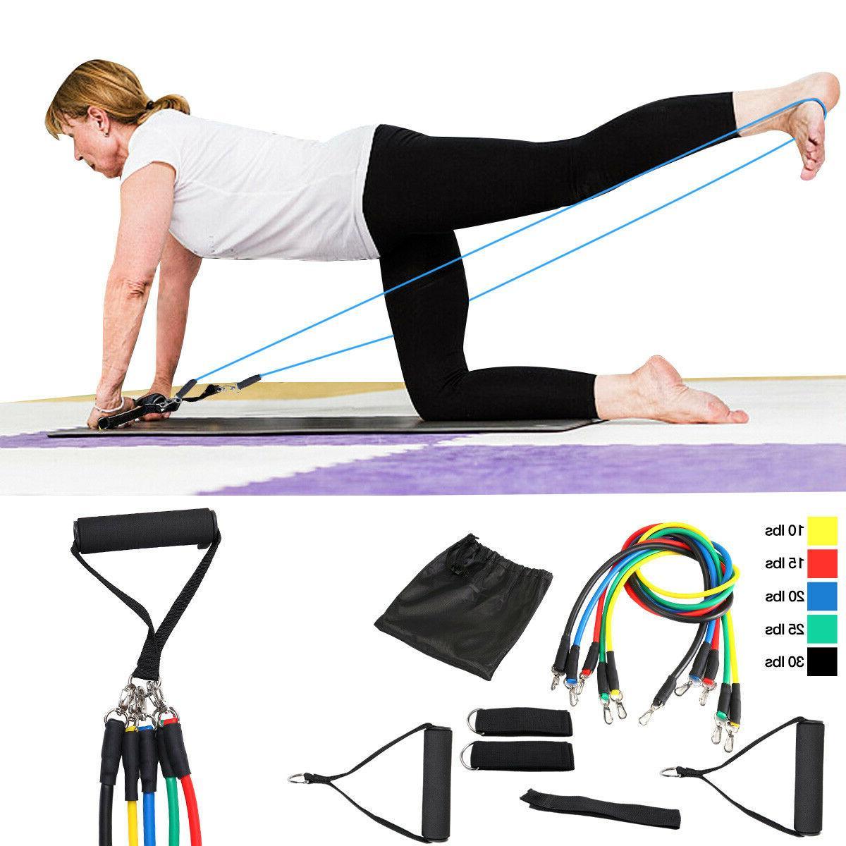 Yoga Tube Resistance Rubber Training