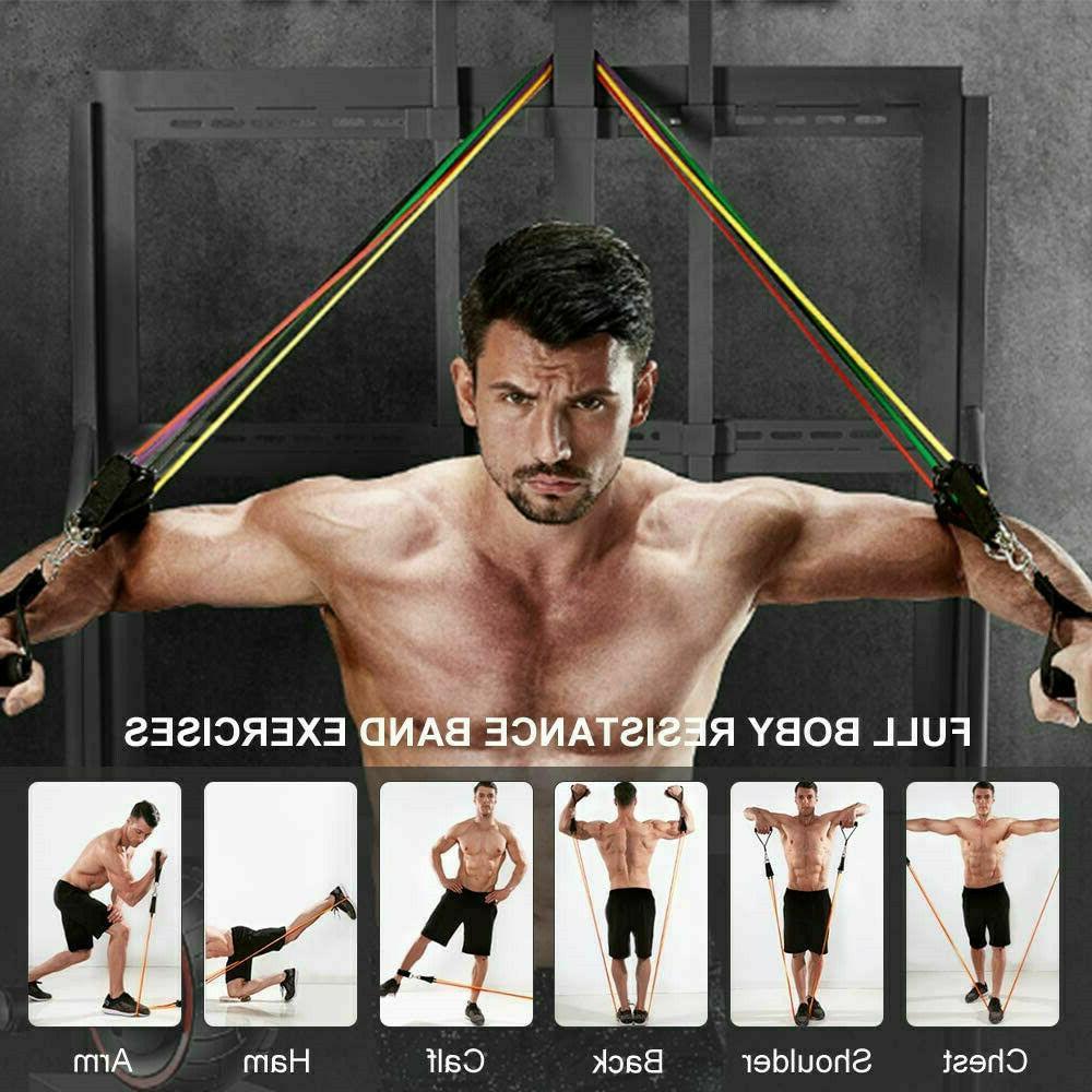 11Pcs Home Workout Yoga Crossfit Training