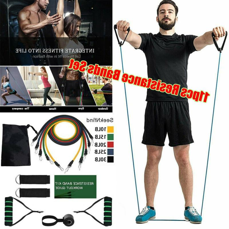 11 Pilates Fitness Workout Bands Strength