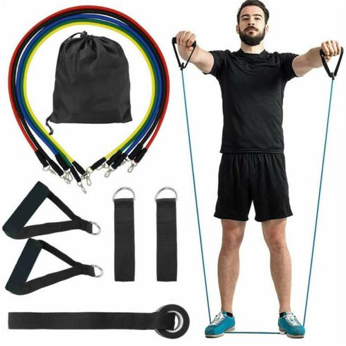 11Pcs/Set Bands Workout Exercise Crossfit Training