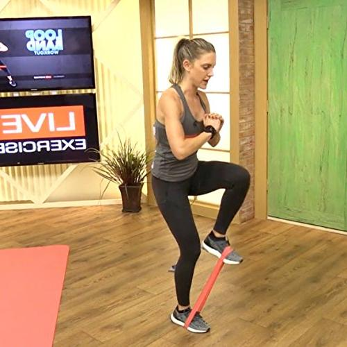 12 Band Videos - 12 Full Length Video Routines Targeting Legs, Simply Play and Follow See