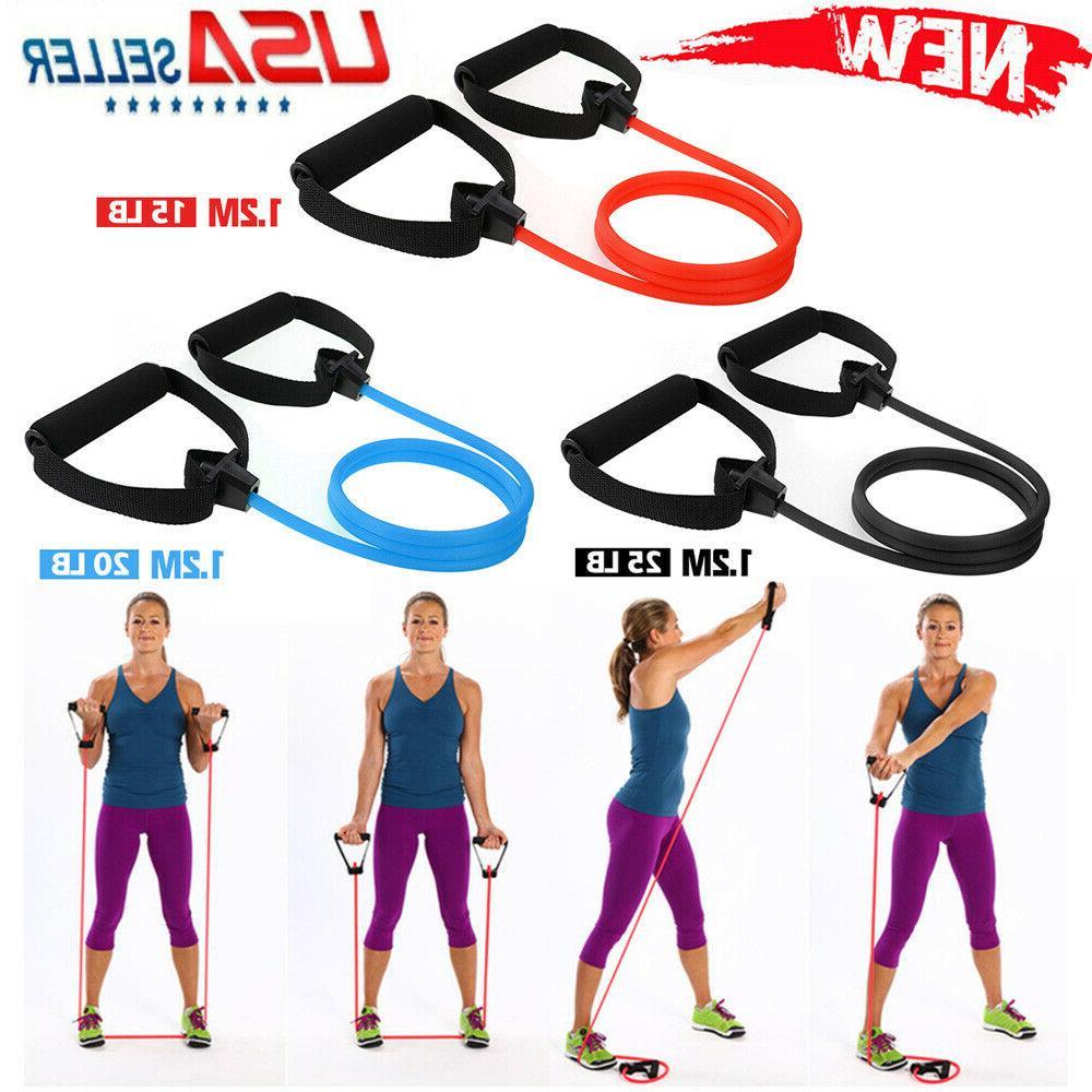 15 25lb premium quality resistance band exercise