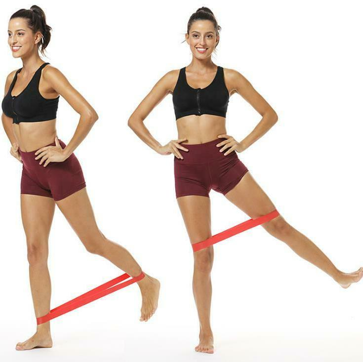 2 FT RESISTANCE LOOP Yoga Elastic Fitness