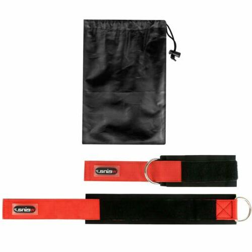 2 Straps Weight Lifting D Cable Strap