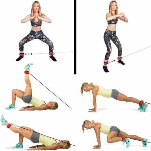 2 Exercise Straps Strap
