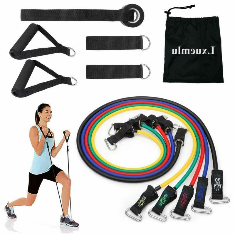 2019 upgraded resistance bands set with handles