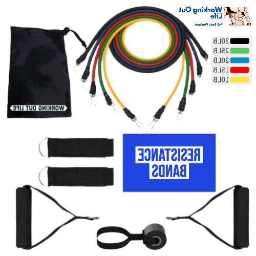 Bands - 11pcs 100LB Exercise SHIP FROM
