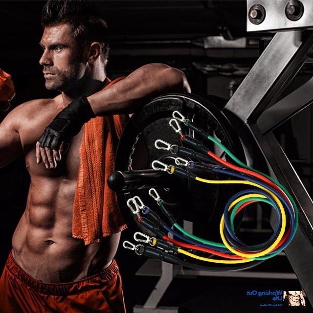 2020 home workout resistance bands 11pcs set
