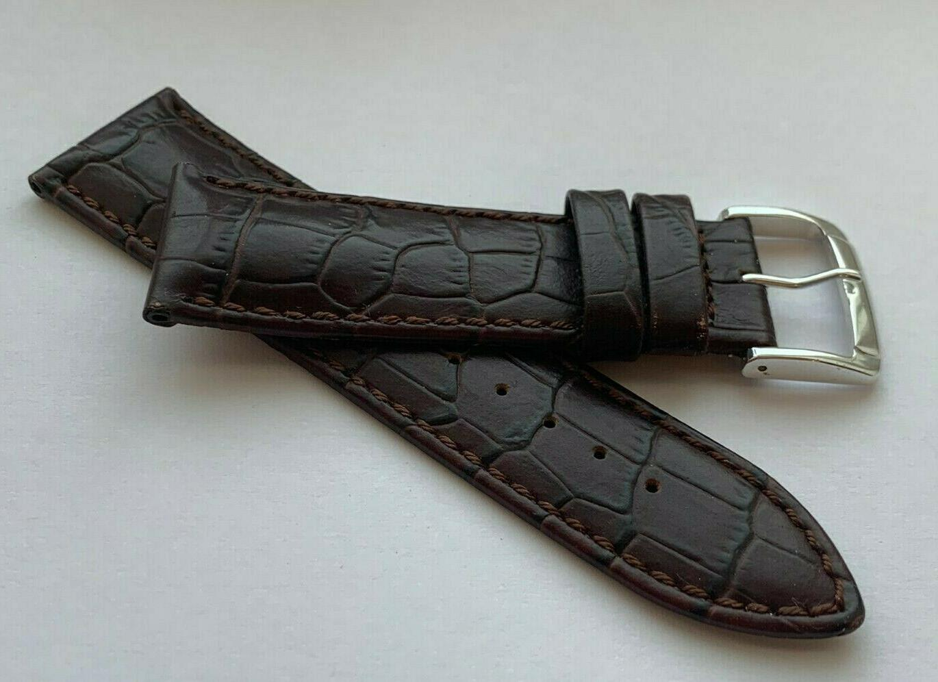 24 LEATHER WATER WATCH BAND