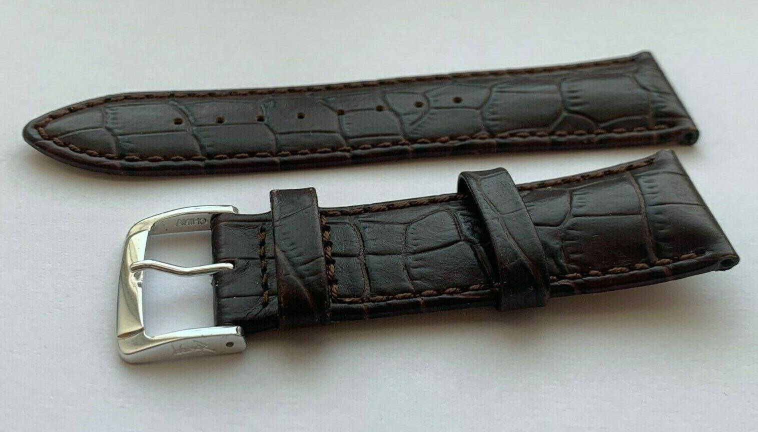 24 LEATHER WATCH BAND