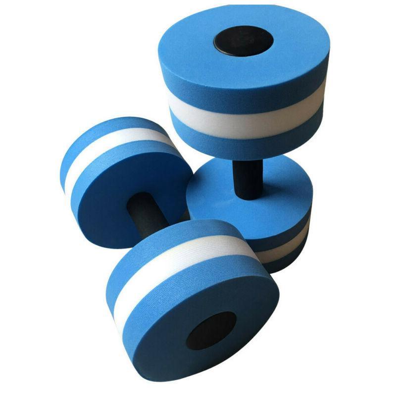 2pcs Aerobics Dumbbells EVA Aquatic Aqua Pool