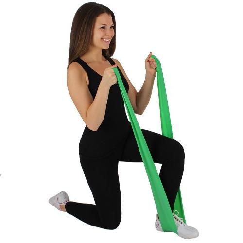 6 Feet Therapy Bands with Anchor 35 lbs Resistance Pilates Workout,