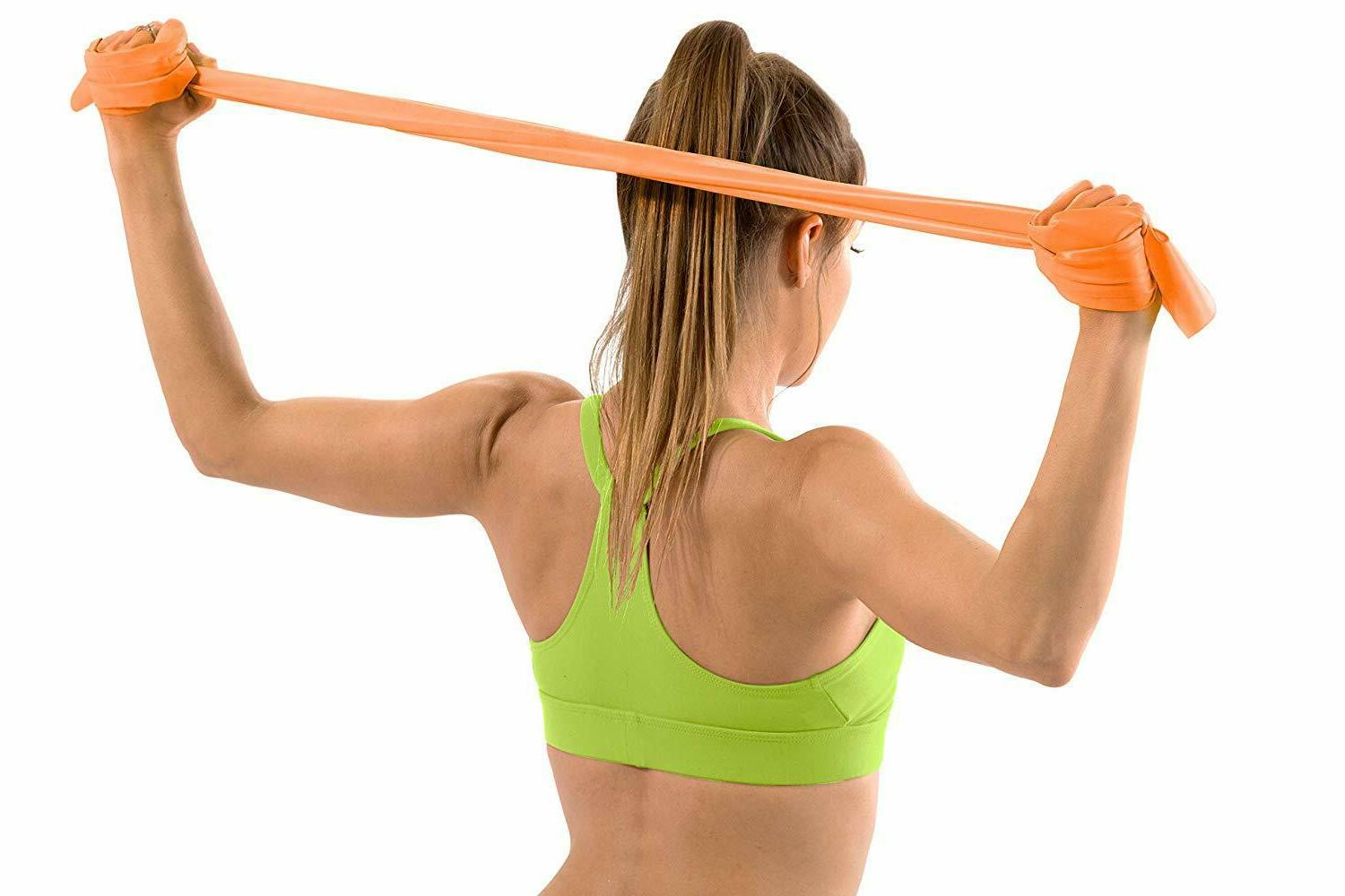 3Pc Bands Yoga & Pilates Exercise with Door Anchor